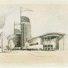 Chrysler Corp. - Building - Sketch