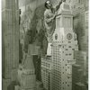 Consolidated Edison - City of Light Diorama - Artist painting model