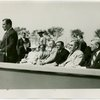Construction - Ceremonies and Events - Grover Whalen , Fiorello LaGuardia and others at Theme Center groundbreaking