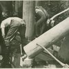 Construction - Workers with axe