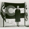 Contests - Woman posed in front of Colorado flag
