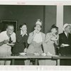 Contests - Doughnut - Doughnut Jamboree with Uncle Don, Judy Canova, Milton Berle, Hildegarde and Hoot Gibson
