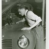 Contests - Golden Key - Winner examining car