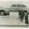 Contests - Golden Key - Two woman with car