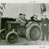 Continental Baking Co. - M. Lee Marshall (President, Continental Baking Co.), Grover Whalen and others with tractor