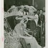 Continental Baking Co. - Harvest Queen receiving crown from James Montgomery Flagg
