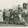 Delaware Participation - Delaware Committee in front of airplane