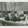 Denmark Participation - Prince Frederik and Princess Ingrid - In car