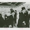 Denmark Participation - Prince Frederik and Princess Ingrid - With Grover Whalen under tent