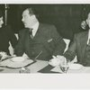 Department Store Executives Luncheon - At table with Grover Whalen