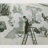 DuPont - Mural - Dominico Mortellito on ladder