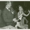 "Elmer (NYWF mascot) - Dancing with Helene Ecklund of """"Hellzapoppin"