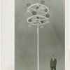 Fairgrounds - Amusement Area - Sketch of pinwheel lighting