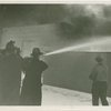 Fairgrounds - Fire - Spraying with hose