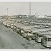 Fairgrounds - Parking and Transportation - Buses in parking field
