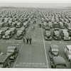 Fairgrounds - Parking and Transportation - Cars and people in parking field