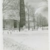 Fairgrounds - Snow - Trylon and Perisphere