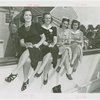 Fairgrounds - Visitors - Four women holding frogs
