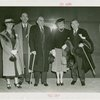 Fairgrounds - Visitors - Speaker Bankhead, Senator James Mead, Mrs. Mead, William Bankhead, Mrs. Bankhead and Sol Bloom