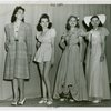 Fashion, World of - Models - Group in teenage fashion show