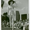 Fashion, World of - Models - Bathing Suits - Model on stage