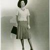 Fashion, World of - Models - Dresses - Model posing