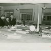 Federal (United States Government) Exhibit - Fiorello LaGuardia, Grover Whalen and Henry A. Wallace (U.S. Secretary of Agriculture) look at model