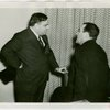 Federal (United States Government) Exhibit - Fiorello LaGuardia and Grover Whalen at luncheon