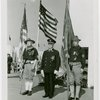 Flags - Boy Scouts - Commanders with American flags