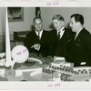 Florida Participation - John Maxcy, Frederick Preston Cone (Governor) and Grover Whalen at Fair model