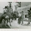 Florida Participation - Man who drove covered wagon from Florida with Jimmy Downes, Ruth Mix and Grover Whalen