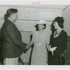 Florida Participation - Brown, Earl W. - Welcoming two women to the Fair