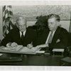 Florida Participation - Brown, Earl W. - Signing contract with Harvey Gibson