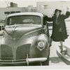 Ford - Tallulah Bankhead stepping into car