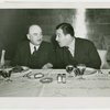 France Participation - Grover Whalen and Marcel Olivier at luncheon