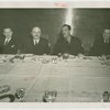 France Participation - Grover Whalen, Marcel Olivier and others at luncheon
