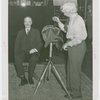 France Participation - Ambassador (Count René Doynel de Saint Quentin) - Posing for daguerreotype by Charles Herbert Tremear
