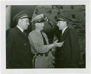France Participation - Veterans - Three French veterans in uniform