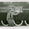 France Participation - Veterans - French veteran in front of railcar