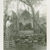 Gardens on Parade - Woman with shrine to flowers