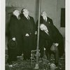 Gas Industries - Grover Whalen and others standing by pipe