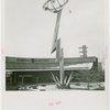 General Electric - Building - Lightning bolt sculpture