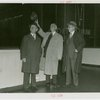 General Motors - John J. Raskob, Alfred Smith and Richard H. Grant at dedication