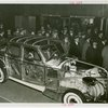 General Motors - Crowd viewing transparent car at dedication