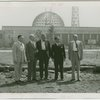 General Motors - William S. Knudson and officials on site
