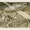 General Motors - Futurama - Sketch of highway running through countryside