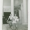 Georgia Participation - University of Georgia students with bicycles