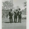 Great Britain Participation - Grover Whalen and two others in top hats