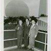 Greece Participation - Officials on Perylon Hall balcony