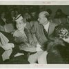 Barbara Hutton in audience